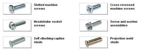 Metallic Machine Screws