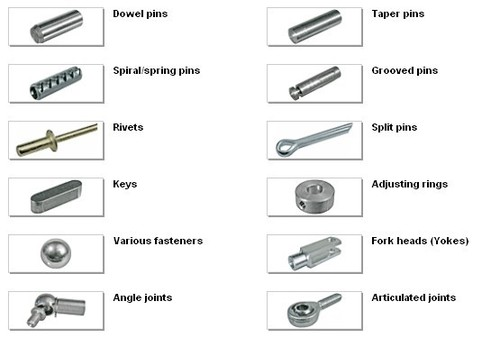 Metal Pins-Rivets