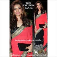 Bollywood replica Designer Karshima Tanna Stylish Exelusive Fancy Sari