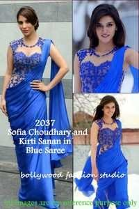 Bollywood replica Designer Kirti Sanan Sofia Fancy saree