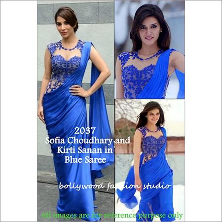 Bollywood replica Designer Kirti Sanan Sofia Fancy Saree