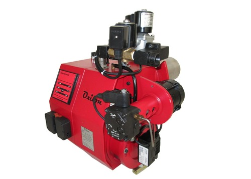Combustion Dual Fuel Burner