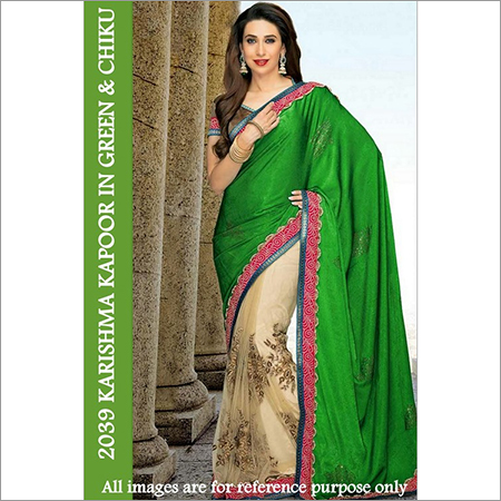 Bollywood replica Designer Karshima Stylish  Fancy party Sari