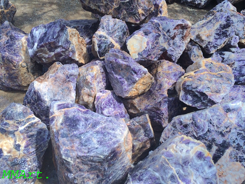 High quality Natural Rough Raw Amethyst Crystal