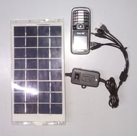 Solar Mobile Phone Battery Charger