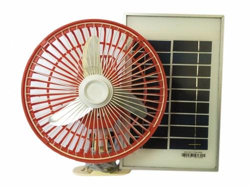 Solar Powered Portable Fan