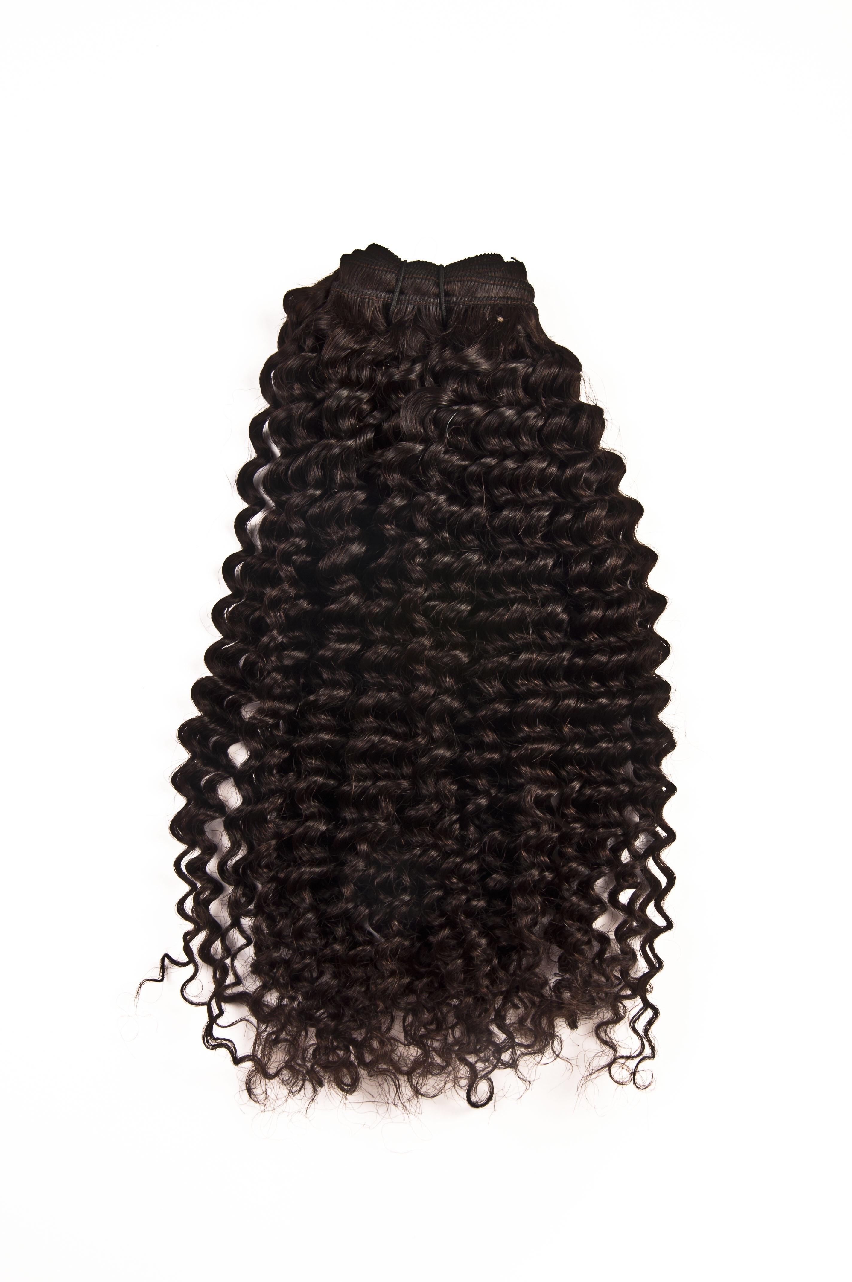 Natural virgin wavy hair