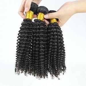 Virgin wavy human hair