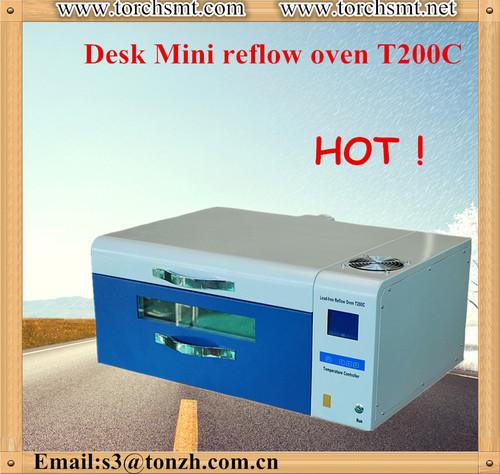 SMT desk mini lead free soldering oven in electric industry T200C