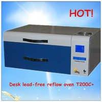 Desk mini lead free reflow oven T200C+