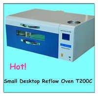Desk mini lead free reflow oven T200C+ in electronic industry