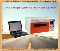 Lead free reflow oven with temperature testing T200N+ in electric industry