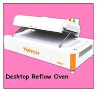 Desk type reflow oven R350 in electric industry
