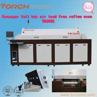 Full hot air lead-free reflow Oven with 8 heating-zones TN360C