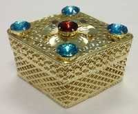 Metal Jewellery Box