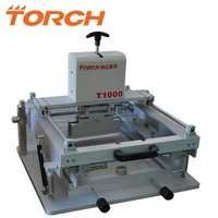 Manual high precision screen printing machine T1000 in electric industry