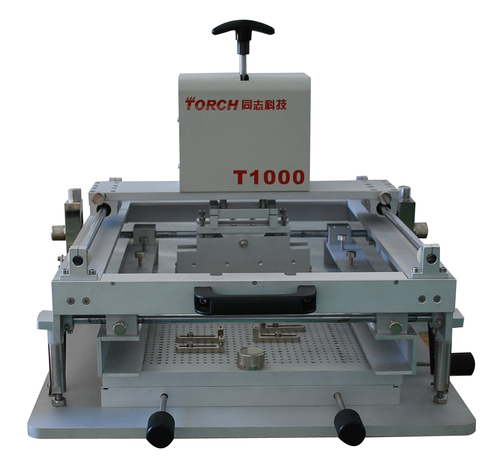 Manual high precision solder paste printing machine T1000