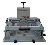 Manual high precision solder paste printing machine T1000