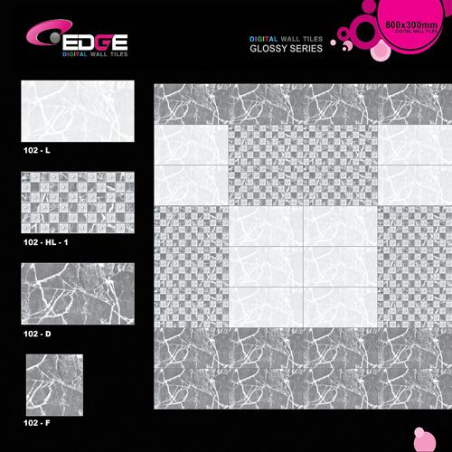 Digitally Printed Marble Tiles