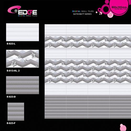 Digital Designer Matte Tiles