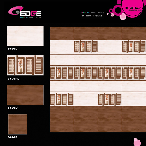 Digital Bathroom Matte Tiles