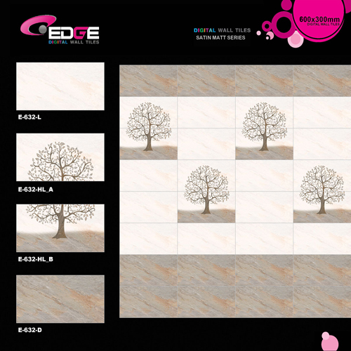 Digital Internal Wall Matte Tiles