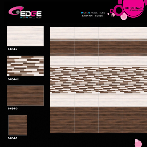 Digital Wall Matte Tiles