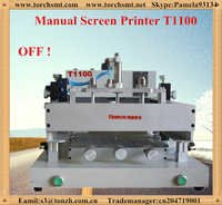 Bench-top high accuracy semiautomatic printing machine T1100 in electric industry
