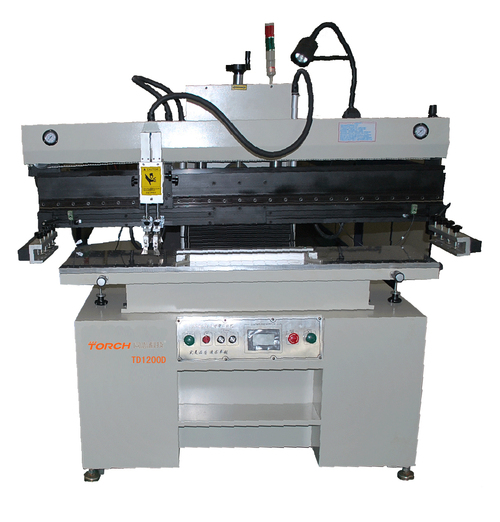 Semi automation high precision solder paste screen printing machine T1200D