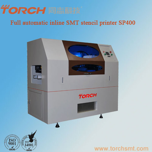 Automatic Solder paste screen Printer SP400 in electric industry