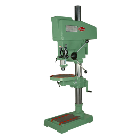 25 mm Cap Backgeared Finefeed Pillar Drill Machine
