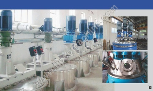 Multifunction Dispersing Mixer