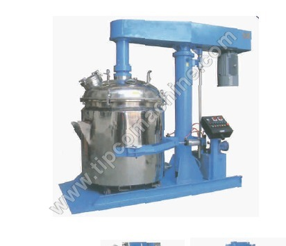 Vacuum High Speed Dispersers
