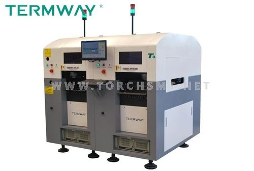 Automatic multi-function high-precision eight-speed placement machine T8