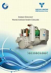 Water Cooled Screw Chilling Plant