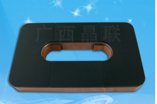 ITO and Cu Backing Plate
