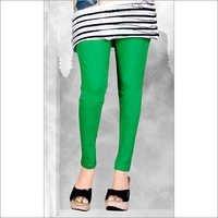Ankel Length Cotton Lycra Leggings