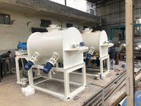 horizontal Plough Shear Mixer