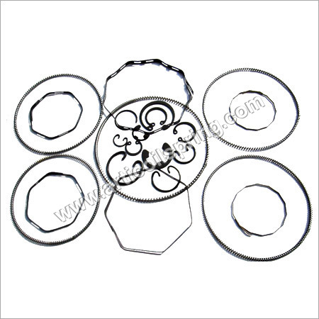 Round Wire Snap Rings