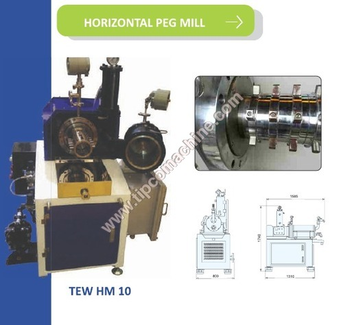 Horizontal Peg Mill