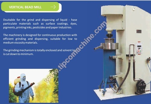Vertical Bead Mill