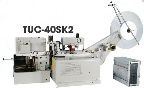 Ultrasonic Label Cut & Stacker