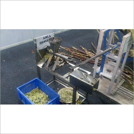 Amla Seed Remover Machine