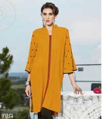 Superb Yellow Color Kurti