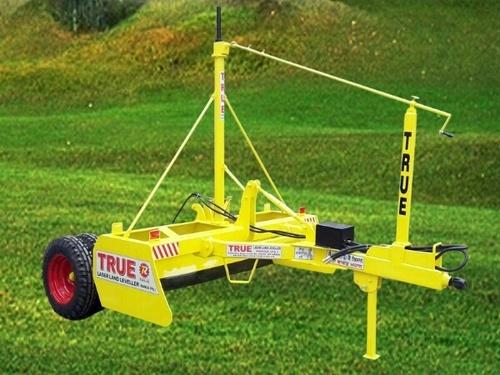 Laser Guided Land Leveller