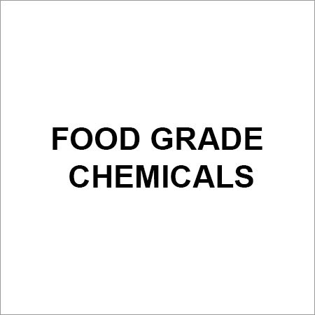 Food Grade Chemical Ingredients