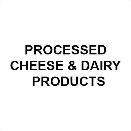 Processed Cheese Dairy Products