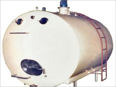Horizontal Milk Storage Tank