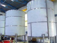 Insulated Storage Tank for Milk