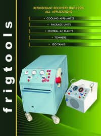 Refrigerant Recovery Units For All Applications